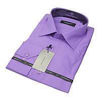 Однотонная классическая мужская рубашка Negredo 31072 Сlassic