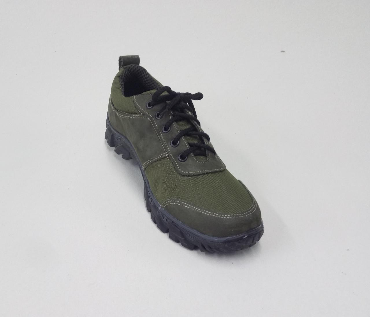 Тактические кроссовки из натуральной кожи РА - Альфа ЗЕЛ