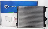 Радиатор охлаждения Логан 1.4, 1.6 без кондиционера после 2008 Лузар