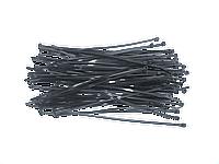 Хомуты 2.5 x 100 мм, 100 шт. черный Topex 44E970