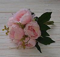 Букет пионов розового цвета