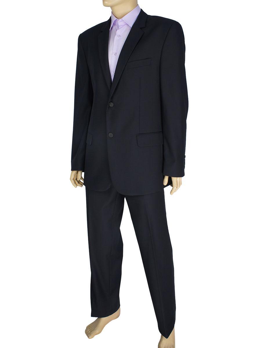 Мужской классический костюм Legenda Class 017#2 mod.996A в темно-синем цвете