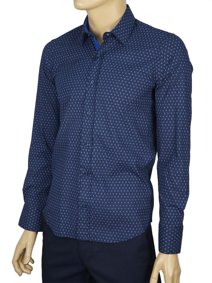 Рубашка мужская Negredo Art.9062 slim