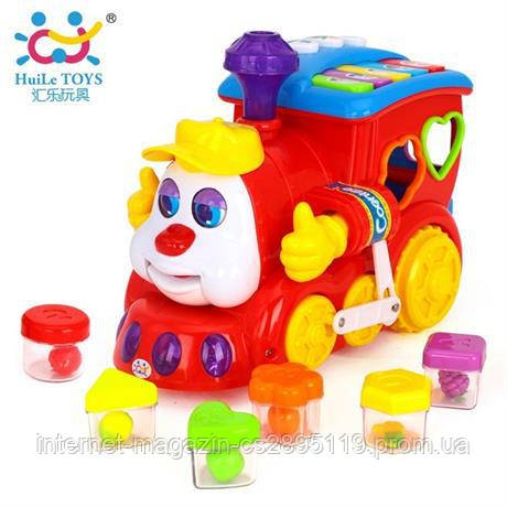 """Игрушка Huile Toys """"Паровозик"""" (556)"""