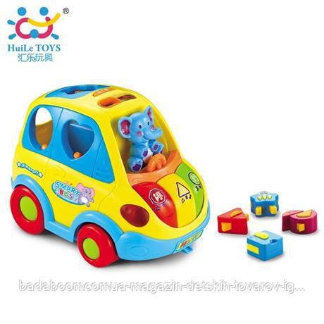 """Игрушка-сортер Huile Toys """"Умный автобус"""" (896)"""