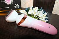 Женский триммер (эл.бритва) + массажер + деликатное очищение лица Rozia HB-6008