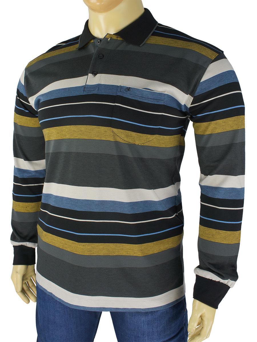 bf0243cff0f Мужской батник Tony Montana M-6207 большого размера - Магазин мужской одежды