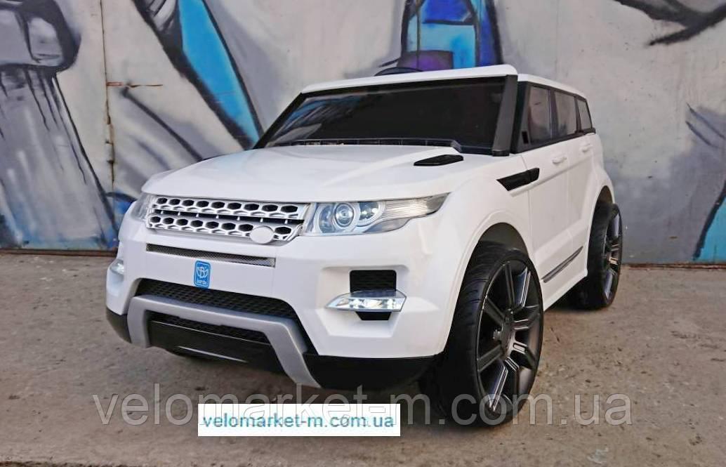 Электромобиль Range Rover белый