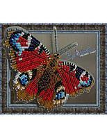 Набор для вышивки бисером Бабочка Павлиний Глаз Дневной