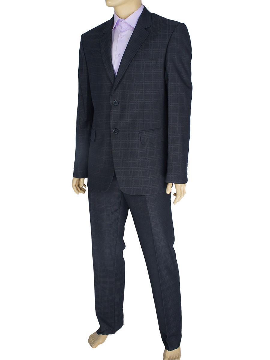 Классический мужской костюм в клетку Daniel Perry Baggio #7