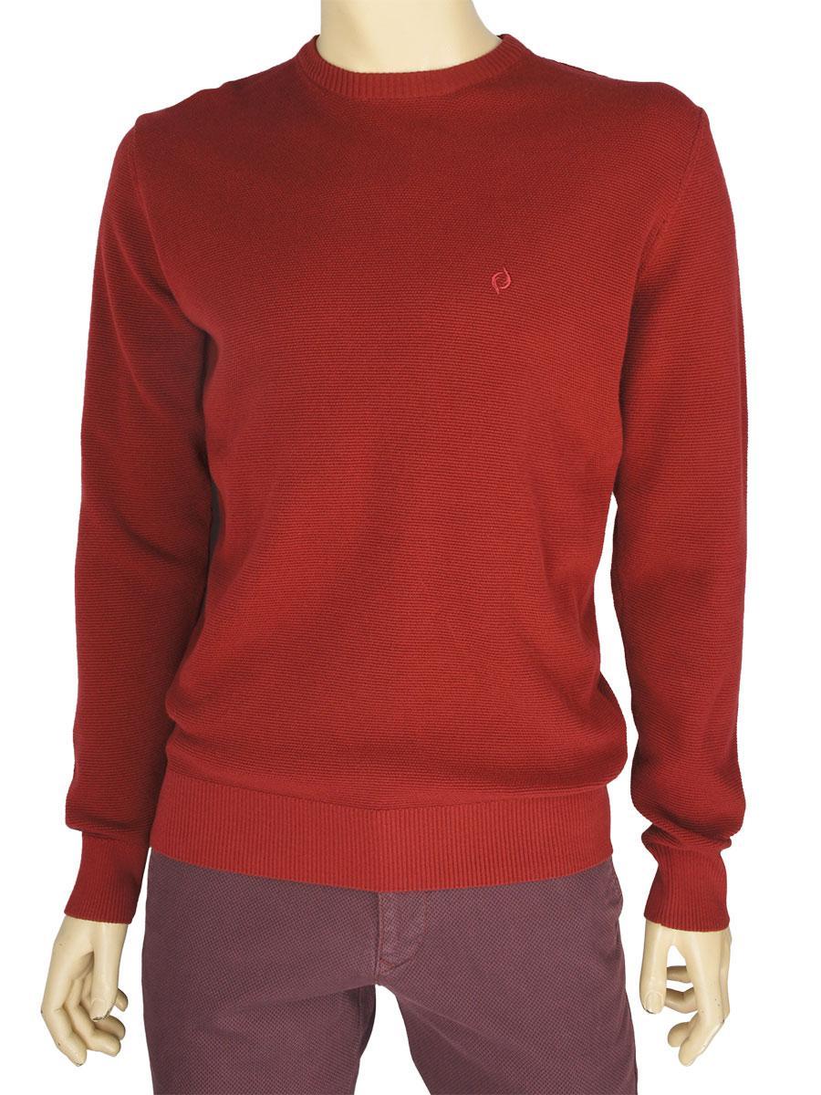 de980e1b0720b Стильный мужской свитер Fabiani 7301 в бордовом цвете для настоящих ...