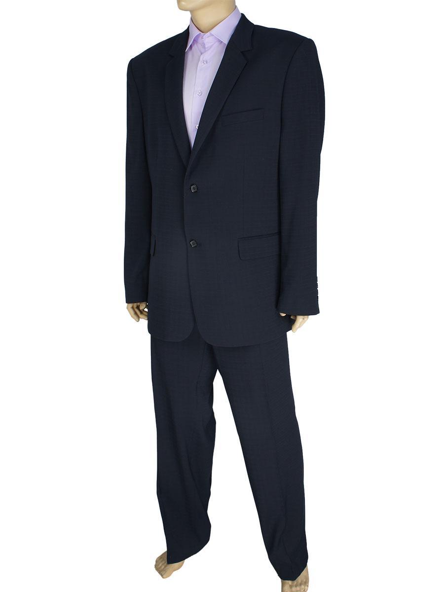 Темно-синій чоловічий класичний костюм Legenda Class 400 # 4