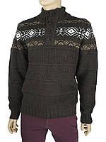 Мужской зимний свитер Bagutta 1317 в коричневом цвете