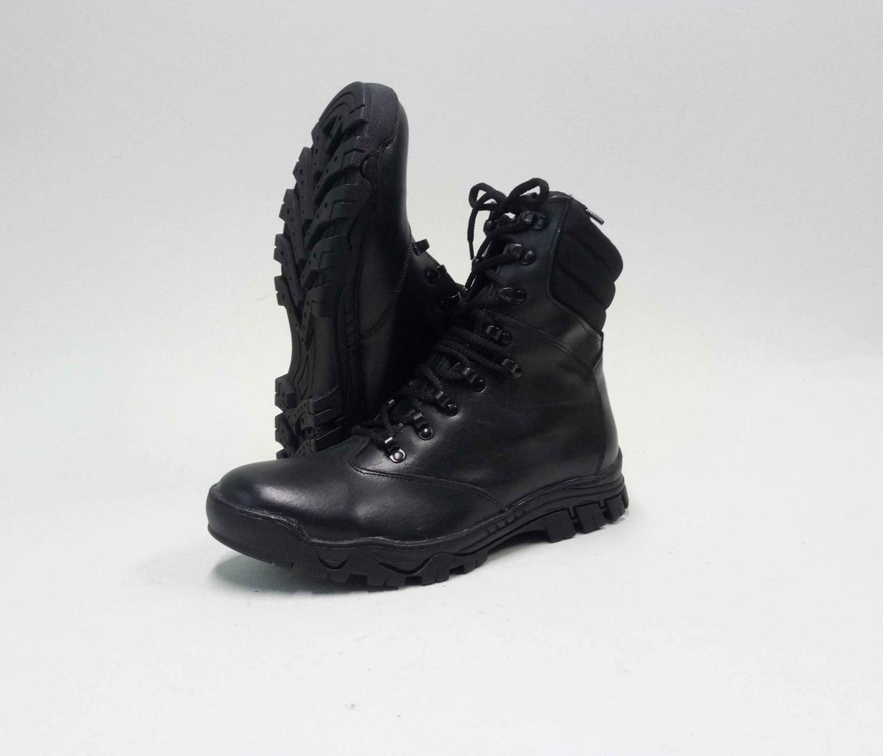 Тактические ботинки из натуральной кожи PA - СОКОЛ Ч