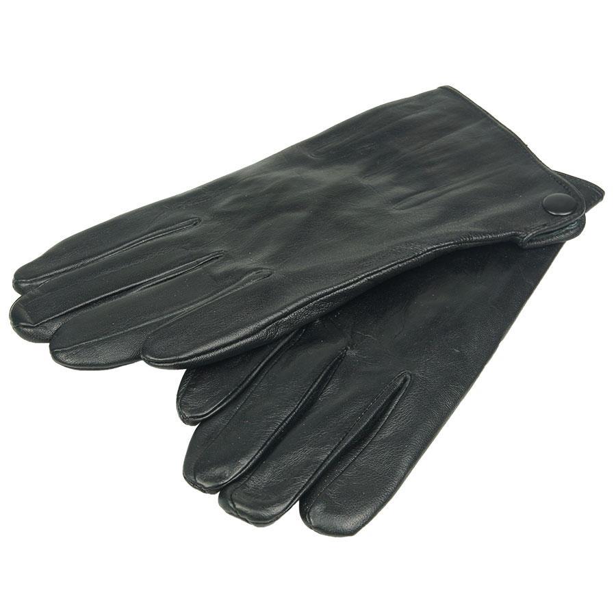 Мужские кожаные перчатки Зимушка 26016