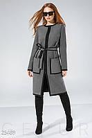 Лаконичное шерстяное пальто
