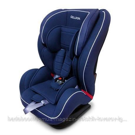 Автокресло Welldon Encore Isofix (синий) BS07-TT01-005