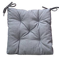 Подушка на стул Прованс 40х40см Лонета Графит
