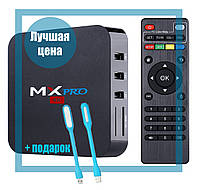 Приставка TV-BOX MX PRO-4k (1G + 8G + Android 5.1) Internet TV, Приставка смарт ТВ Android Smart TV