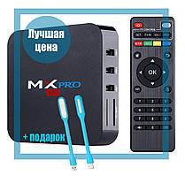 Приставка TV-BOX MX PRO-4k (1G + 8G + Android 5.1) Internet TV, Приставка смарт ТВ Android Smart TV