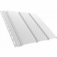Панель потолочная перфорированная Bryza 310х4000 мм белая