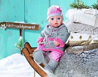 Зимняя одежда дубленка и обувь для куклы Baby Born и Annabell Zapf 700099