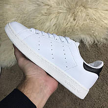 Мужские кроссовки Adidas Stan Smith White Black