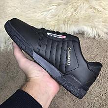 Мужские кроссовки Adidas Yeezy PowerPhase Calabasas Black