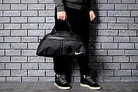 Купить недорого спортивные сумки для спортзала  мужские сумки- коттон, значок вышит,размер:45х26х17
