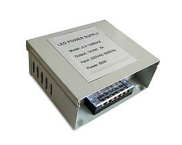 Влагозащищенный всепогодный блок питания JLV-12060KB 12 Вольт 60W 5А IP54