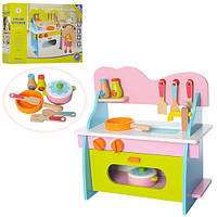 Кухня детская деревянная XNMS17038