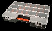 Ящик для кріплень (органайзер) XL  з перегородками, що регулюються Topex 79R160