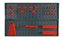 Панель перфорована для інструменту Topex 79R186