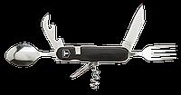 Нож перочинный туристический, черный Topex 98Z117