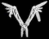 Многофункциональный инструмент, 9 элементов, серебряный Topex 98Z058, фото 1