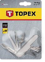 Ніж перочинний, 11 функцій, нержавіюча сталь Topex 98Z116