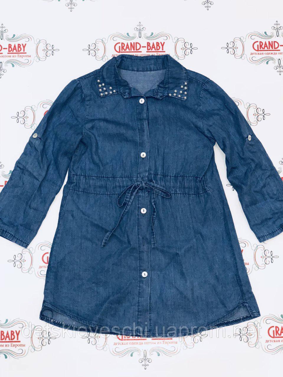 21c9787c102 Джинсовая рубашка туника для девочки Angelina.Италия  продажа