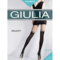 Колготки с имитацией чулка Giulia ENJOY 5