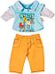Одежда для куклы 43 см Baby Born костюм для мальчика Zapf Creation 822197A, фото 5