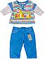 Одежда для куклы 43 см Baby Born костюм для мальчика Zapf Creation 822197A, фото 2