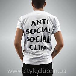 Футболка мужская Anti Social social club бирка A.S.S.C.