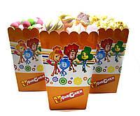 Коробочки для конфет Фиксики 5 штук