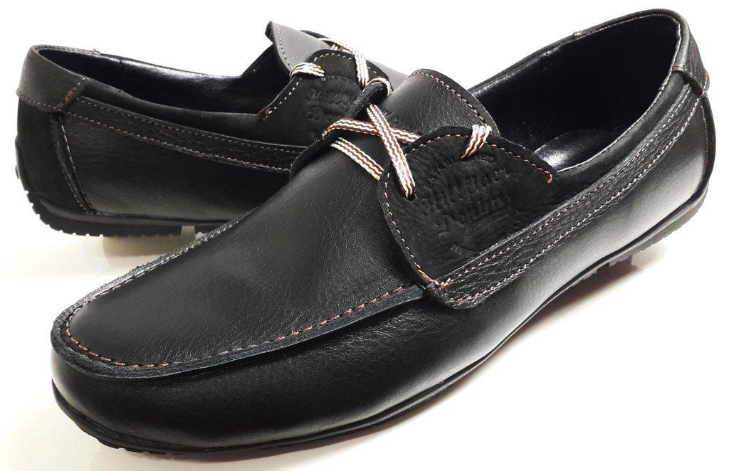 Кожаные мужские туфли Tommy Hilfiger Denim model 2,черные  продажа ... bb12e5abb56