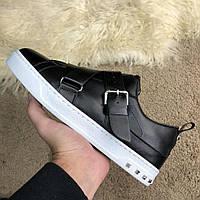 Мужские кроссовки Valentino V-Punk Sneaker Black White, реплика, супер  качество! f119ef1f9f5