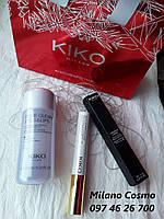 Тушь для ресниц двуфазная жидкость для снятия макияжа KIKO MILANO