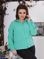 Блузка (50, 52, 54, 56) — софт купить оптом и в Розницу в одессе 7км