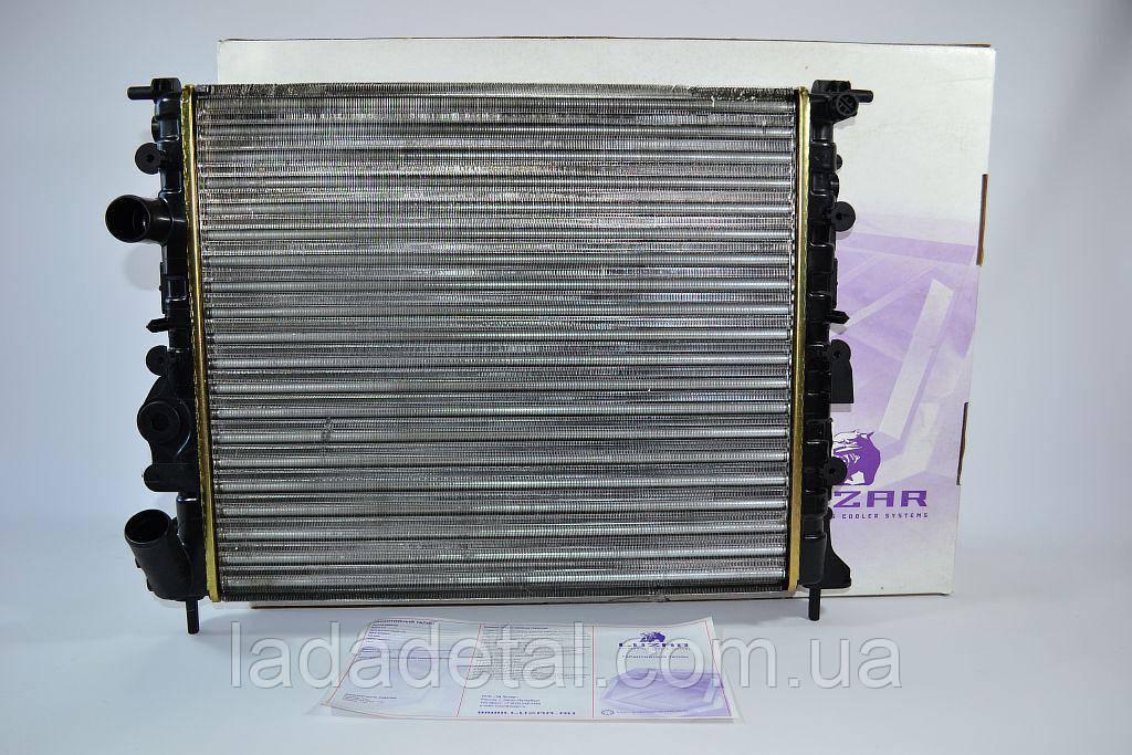 Радиатор охлаждения Логан 1.4, 1.6 без кондиционера после 2004 Лузар