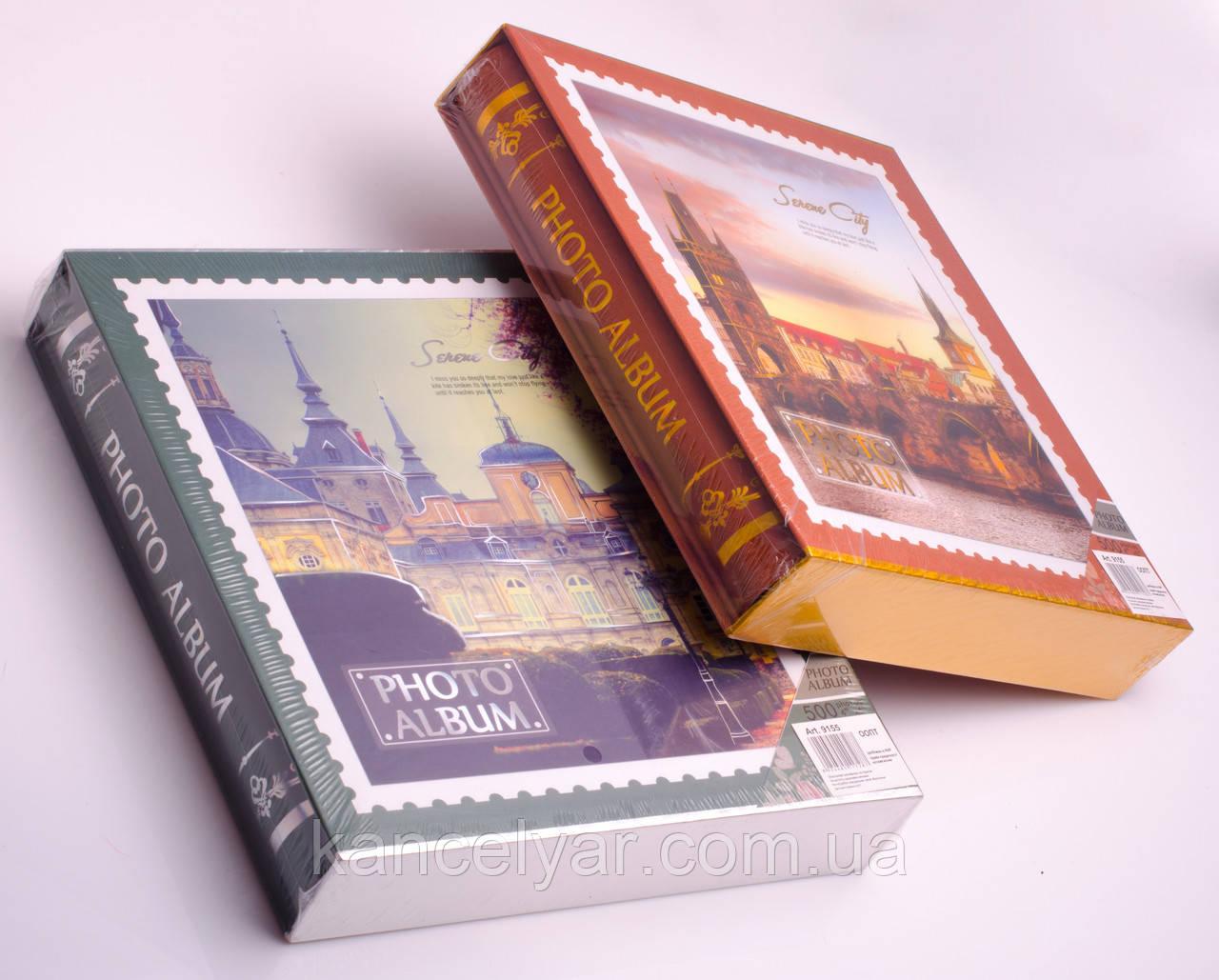 Фотоальбом в коробке: 500 фото, 10х15 см, 31.5х34 см, в ассортименте