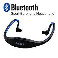 Беспроводные Блютуз наушники Bluetooth BS19 с Радио FM спорт гарнитура ХиТ Акция !!!