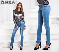 Женские модные джинсы летние 004